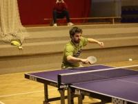 Neporažený Karel Gombarčík ml. se stal vítězem turnaje ve stolním tenise v Červeném Kostelci