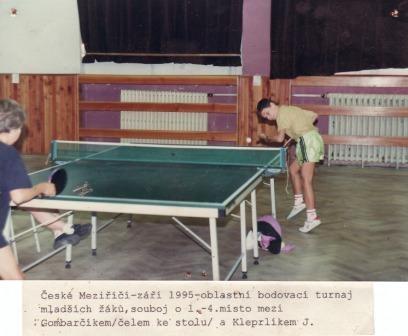 Jakub Kleprlík vs.Gombarčík BTM 1995