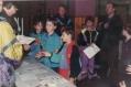 Přebírání diplomů naBTM ml.žáci 1995